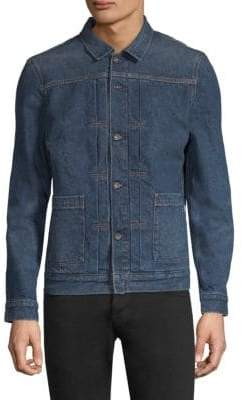 Levi's Made& Crafted Cotton Trucker Shirt