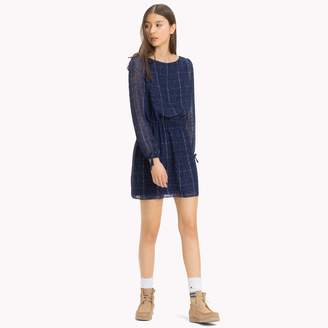 Tommy Hilfiger Chiffon Check Dress