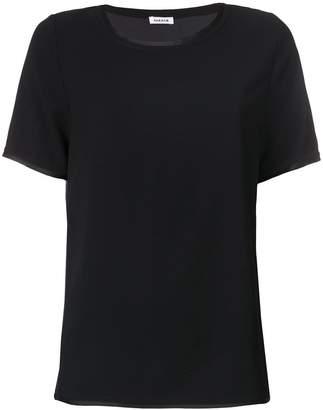 P.A.R.O.S.H. contrast trim T-shirt