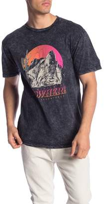 Neff No Where Mineral Wash Tee