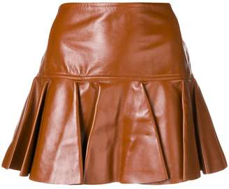Chloé flared mini skirt