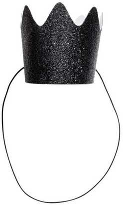 H&M - 10-pack Crowns - Black/glittery