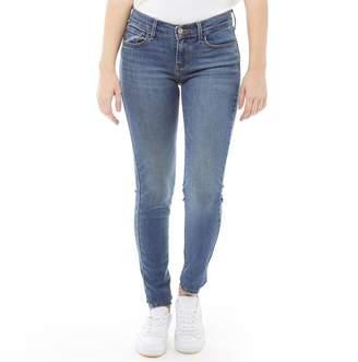 37c7672d Levi's Womens 710 Super Skinny Jeans Rain Check
