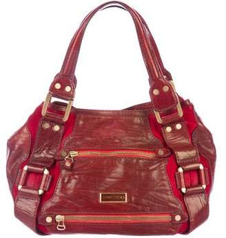 Jimmy Choo Leather Mona Bag
