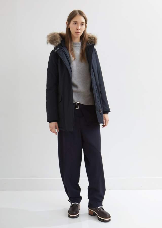 Arctic Parka With Detachable Fur Trim