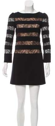 Erin Fetherston Lace-Trimmed Shift Dress