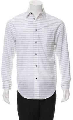Alexander Wang Printed Button-Up Shirt