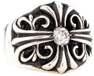 Chrome Hearts Diamond Ring