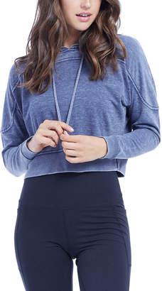 The Balance Collection Crop Peached Hoodie