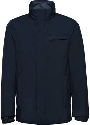 Prada technical poplin jacket with removable lining