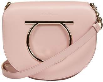 Salvatore Ferragamo Rounded Gancini Ornament Shoulder Bag