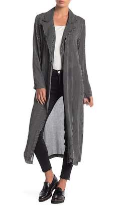 Anama Long Open Front Cardigan