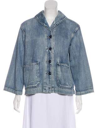 The Great Button-Up Denim Jacket