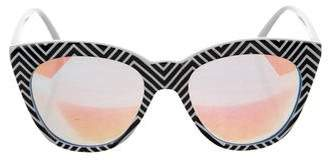 Quay Isabell Reflective Sunglasses