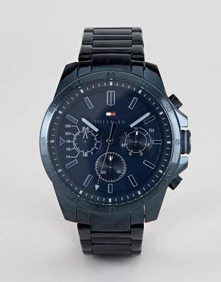 Tommy Hilfiger Decker bracelet watch in blue 48m