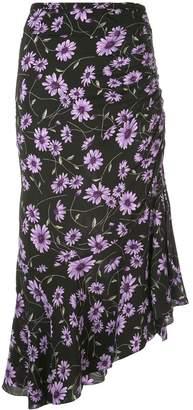 Michael Kors floral print midi skirt
