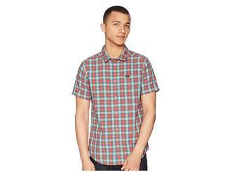 RVCA That'll Do Plaid 3 Shirt Men's Long Sleeve Button Up
