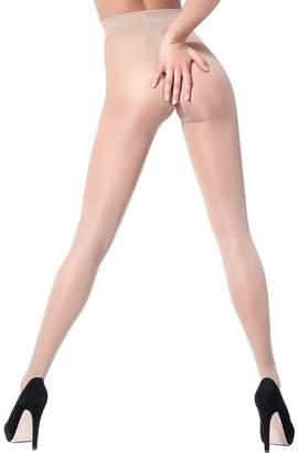 Intimo Giulia Hosiery Giulia Crotchless Tights-/3