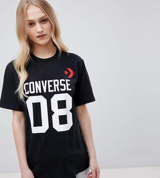 Converse Basketball Short Sleeve T-Shirt In Black
