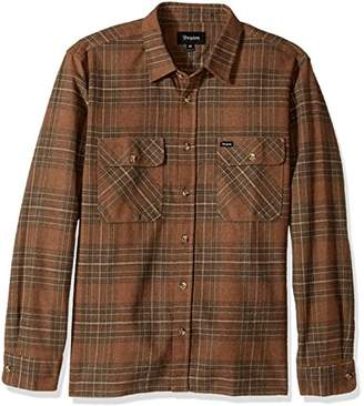 Brixton Men's Archie Relaxed Fit Long Sleeve Flannel Shirt