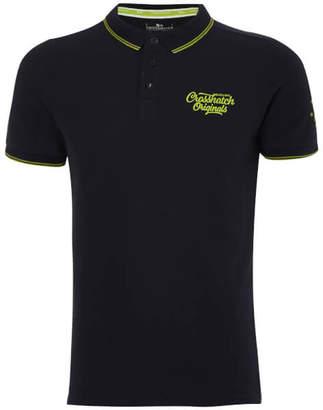Crosshatch Men's Morristown Polo Shirt - Night Sky