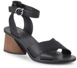 Dolce Vita Roman Crisscross-Strap Leather Sandals