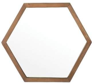 Apt2B Sawyer Hexagonal Wall Mirror