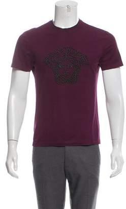 Versace Metal-Embellished Medusa T-Shirt