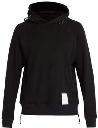 Satisfy Jogger Cotton Hooded Sweatshirt - Mens - Black