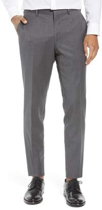 Nordstrom Flat Front Tech-Smart Extra Trim Trousers