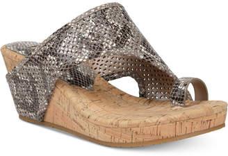 Donald J Pliner Gyer Wedge Sandals Women Shoes