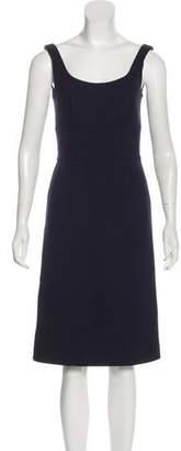Aquascutum London Wool Sheath Dress