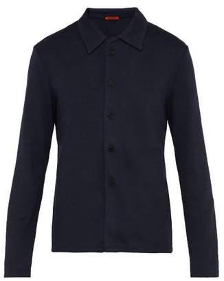 Barena Venezia - Stretch Jersey Tailored Cardigan - Mens - Navy