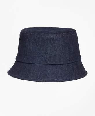 Brooks Brothers Denim Bucket Hat
