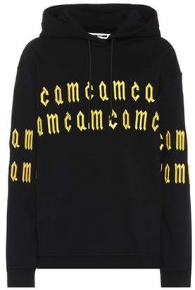 McQ Embroidered cotton hoodie