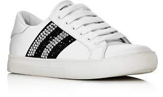Marc Jacobs Women's Empire Strass Low Top Sneakers