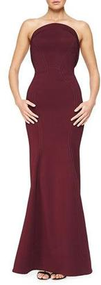 Zac Posen Strapless Fold-Detailed Mermaid Gown $4,990 thestylecure.com
