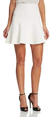 BCBGMAXAZRIA Women's Ingrid Knit Fit and Flare Skirt