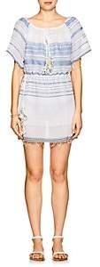 Lemlem Women's Striped Cotton Dress - Lt. Blue Str