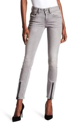 G Star Lynn Lunar Zip Mid Skinny Jeans