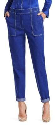 Akris Blueprint Cotton Pants