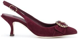 Dolce & Gabbana Bellucci slingback pumps