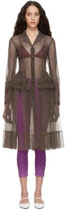 Molly Goddard ブラウン Tiffany ドレス