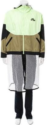 Nike Mesh-Accented Logo Jacket