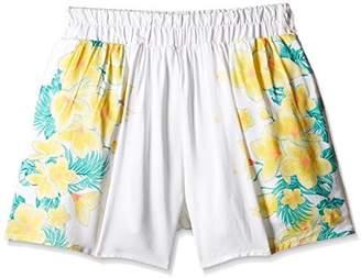Pumpkin Patch Girl's Floral Print Skort Floral Skirt,(Manufacturer Size:8)