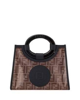 4d27cfbe4605 Fendi Runaway Small FF Tote Bag
