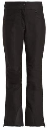 Moncler Flared Ski Trousers - Womens - Black