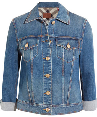 Burberry - Denim Jacket - Mid denim $550 thestylecure.com