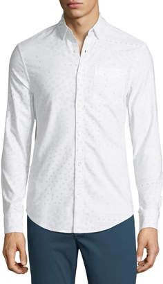 Original Penguin Paisley-Print Oxford Sport Shirt