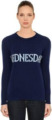 Alberta Ferretti Over Wednesday Wool & Cashmere Sweater